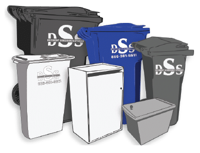 DSS Shredding Collection Containers