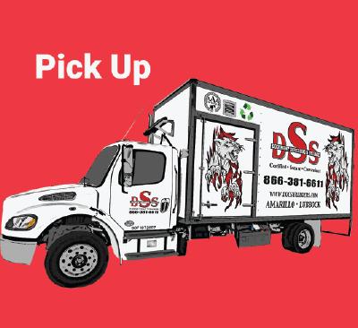 DSS Pickup Mobile Shredding Truck