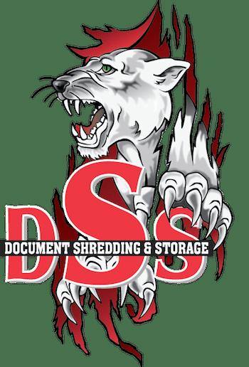 Shredding Logo with Cat Graphic