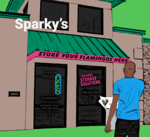 Graphic of Sparky's in Amarillo, TX