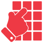 Red Access Panel Icon