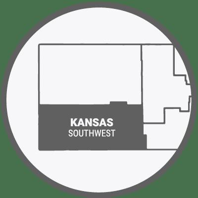 Southwest Kansas Map Icon
