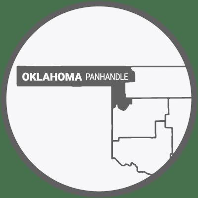 Oklahoma Panhandle Map Icon