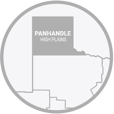 Texas Panhandle Highlands Map Icon