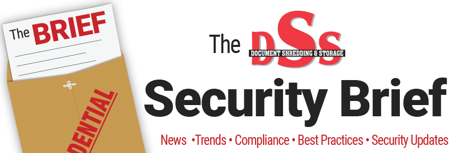 Graphic and Title of DSS Security Brief
