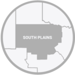 Texas South Plains Map Icon