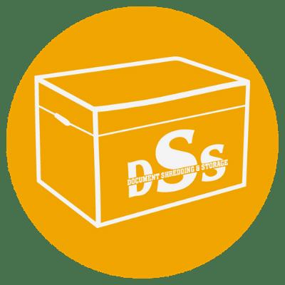 storage boxes yellow