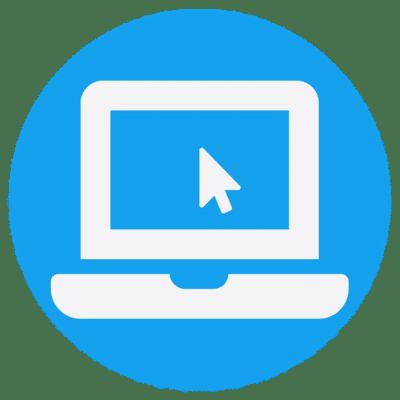 web portal blue